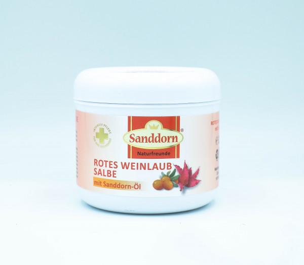 ROTES WEINLAUB Salbe mit Sanddorn-Öl - 250 ml