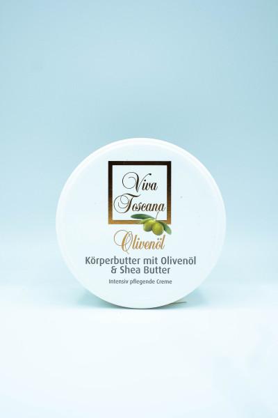 """Viva Toscana"" Körperbutter mit Olivenöl & Shea Butter"
