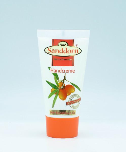 Sanddorn Naturfreunde HANDCREME mit Sanddorn-Öl - 50 ml