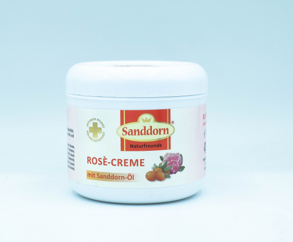 ROSÈ Creme mit Sanddorn-Öl - 250 ml