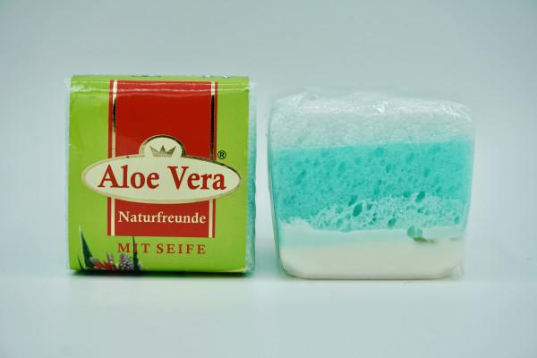 Naturfreunde PEELING SEIFE ALOE VERA - 65 g