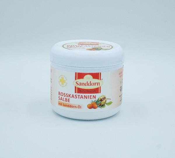 ROSSKASTANIEN Salbe mit Sanddorn-Öl - 250 ml
